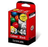 Lexmark Tinten-Kombipack Nr. 43 + 44 für X9350