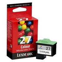 Lexmark Tintenpatrone farbig Nr. 27  für X1270