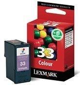 Lexmark Tintenpatrone Nr. 33 dreifarbig für Z815