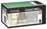 Lexmark Tonerkassette magenta, HC für C544/X544