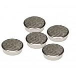Magnet (Büro) Chrom-Magnet, 30 mm, 21000 g, chrom