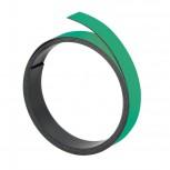 Magnetband, 100 cm x 15 mm, 1 mm, grün