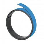 Magnetband, 100 cm x 15 mm, 1 mm, hellblau