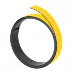 Magnetband, 100 cm x 20 mm, 1 mm, gelb