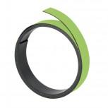 Magnetband, 100 cm x 20 mm, 1 mm, hellgrün