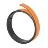 Magnetband, 100 cm x 5 mm, 1 mm, orange