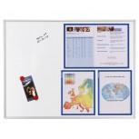 Magnetische Schreibtafel ECO, 150 x 100 cm, emailliert