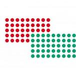 Markierungspunkte sk rot+grün