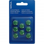 Maul Facetterand-Magnet MAULpro SB   0,17 kg Haftkraft, 8 St./Set grün
