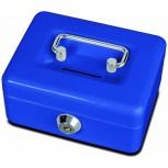 Maul Geldkassette mit Münzeinwurf, 12,5 x 9,5 x 6 cm blau