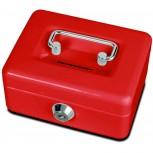 Maul Geldkassette mit Münzeinwurf, 12,5 x 9,5 x 6 cm rot