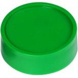Maul Rund-Magnet, PE Ø 34 mm, 2 kg Haftkraft, 10 St./Set grün