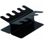 Maul Stempelträger in gerader Ausführung, 8 Stempel schwarz