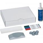 Maul Whiteboard Zubehör-Set, Karton farblich sortiert