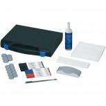 Maul Whiteboard Zubehör-Set, Kunststoffkoffer farblich sortiert