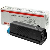 OKI Toner Original für C5100, schwarz, 42127408