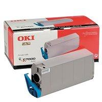 OKI Toner Original für C7000/C7200/C7400, schwarz