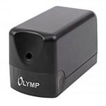 OLYMPIA AS100 - elektronischer Bleistiftspitzer, 1 Loch - 8mm, schwarz