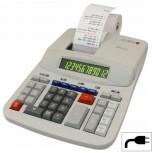 OLYMPIA CPD512 - Tischrechner mit Farbband, rot/schwarz