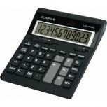 OLYMPIA LCD 612 SD - Büro-Taschenrechner, 12-stellig, schwarz