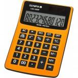 OLYMPIA LCD1000P - Taschenrechner, Wasser- und staubdicht, orange
