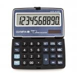 OLYMPIA LCD1010E - Taschenrechner, 10-stellige Anzeige, Euro-Umrechnung