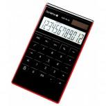 OLYMPIA LCD3112 - Business-Taschenechner mit Punktmatrixanzeige, schwarz