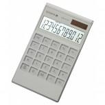 Olympia LCD-3112 - Business-Taschenechner mit Punktmatrixanzeige, weiß