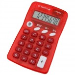 Olympia LCD825R - Taschenrechner 8-stellige Anzeige, rot