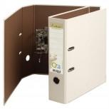 Ordner Prem-Touch aus Recycling- Karton, 2 Ringe, 80mm Rücken, 32x29cm für DIN A4 Überbreite - Forever