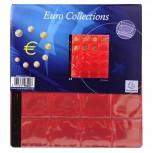 Packung mit 3 Stück Münzenhüllen mit 20 Fächern mit Ø40mm, 24,5x25cm