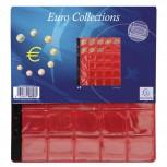 Packung mit 3 Stück Münzenhüllen mit 30 Fächern mit Ø30mm, 24,5x25cm