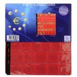 Packung mit 3 Stück Münzenhüllen mit 43 Fächern mit Ø20, 25 und 30mm, 24 ,5x25cm