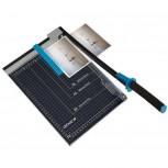 Papier-Hebelschneidegerät, DIN A4, 12 Blatt