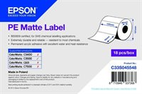 PE Matte Label - Die-cut Roll - C33S045548