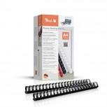 Peach Binderücken 32mm, für 310 Blatt A4, schwarz, 50 Stück, PB432-02