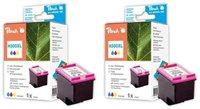 Peach Doppelpack Druckköpfe color - PI300-477