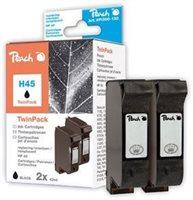 Peach Doppelpack Druckköpfe schwarz - PI300-130