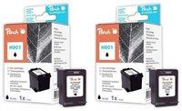 Peach Doppelpack Druckköpfe schwarz - PI300-482