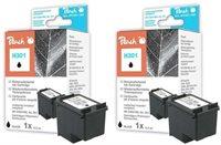 Peach Doppelpack Druckköpfe schwarz - PI300-503