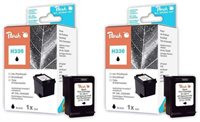 Peach Doppelpack Druckköpfe schwarz - PI300-470