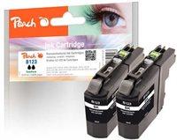 Peach Doppelpack Tinte schwarz - PI500-114