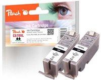 Peach Doppelpack Tinte XL schwarz - PI100-287