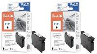 Peach Doppelpack Tinten schwarz - PI200-345