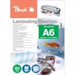 Peach Laminierfolien A6, 80mic, glänzend, PP580-04, 100 Stk.