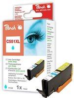 Peach XL-Tinte cyan mit Chip - PI100-164