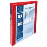 Personalisierbares Ringbuch aus PP 1,9mm, 4 Ringe 30mm, Rücken 47mm, 2 äußere Klarsichthüllen, 32x27,7cm für DIN A4 Überbreite - Kreacover