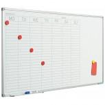 Planer Softline Profil 8mm, Woche DU 60x120 cm weiß