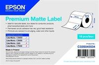 Premium Matte Label - Die-cut Roll - C33S045534