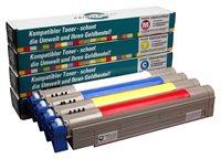 PrinterCare Tonerpaket - C9600/9800-CMYBK